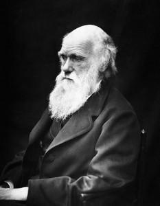 Charles Darwin,  fotografía tomada por J.M. Cameron en 1869
