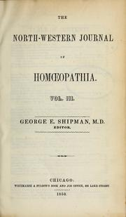 North Western Journal of Homeopathy