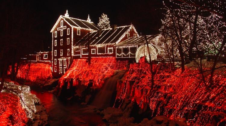 Navidad en Clifton (Ohio). Foto: Moofpocket