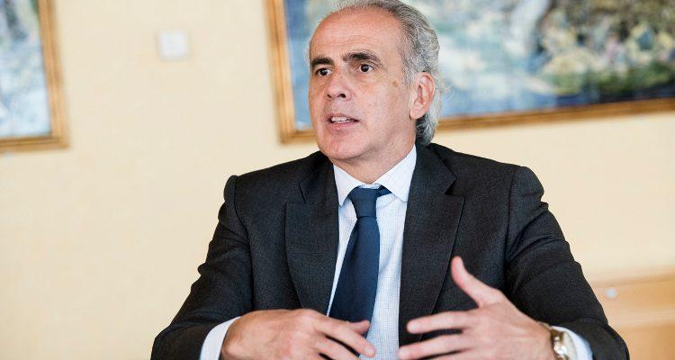 Entrevista al consejero de Sanidad de Madrid, Enrique Ruiz Escudero